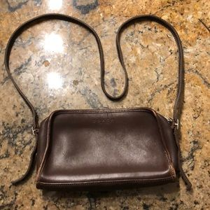 Vintage Chocolate Coach Satchel